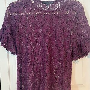 Gorgeous New lace T-Shirt, size small